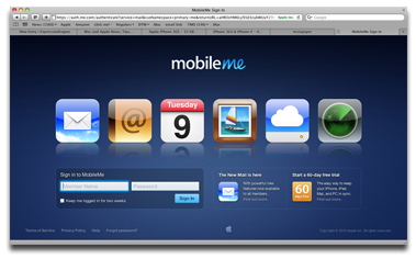 Apple Intros New Web Mail Features in MobileMe Update