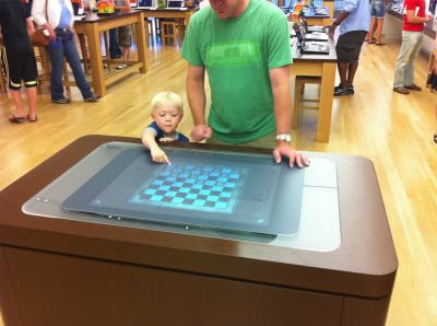 MS store Denver - Surface Table
