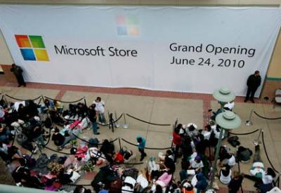 MS store San Diego opening