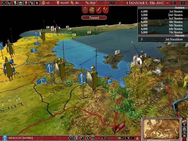 Euoropa Unversalis Rome: Gold Edition Screenshot