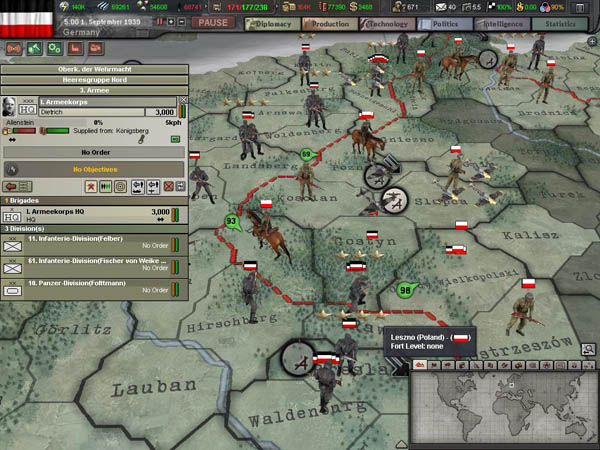 Hearts of Iron: Semper Fi Screenshot