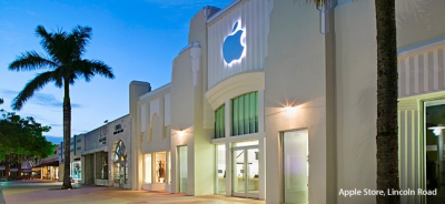 Apple Store, Lincoln Road, Miami Beach