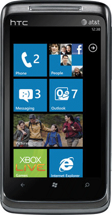 Windows Phone 7 Screenshot