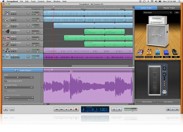 GarageBand 11 Screenshot
