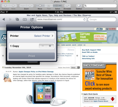 ios airprint