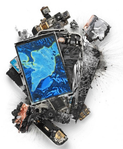 'Sploded iPhone Art