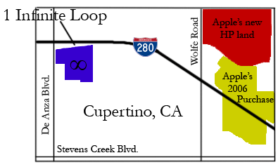 Apple Cupertino Map