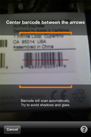 Amazon Mobile Scan