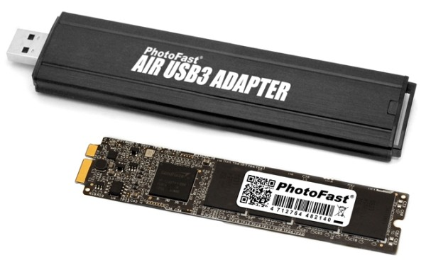 PhotoFast MacBook Air SSD Upgrade