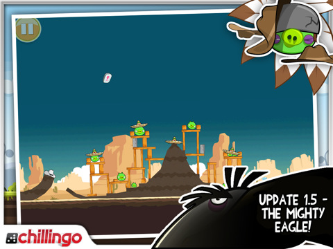 Angry Birds HD 1.5 - The Mighty Eagle