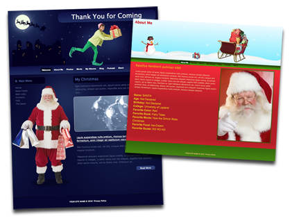 Iweb Themes Park Shares Free Holiday Templates The Mac Observer