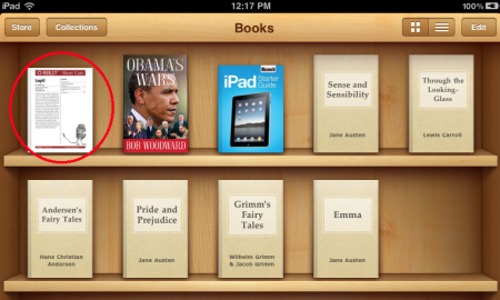 how to add epub books to ipad