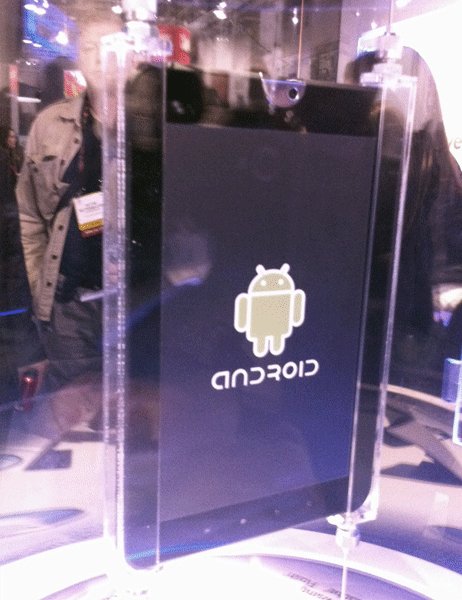 Android Tablet from Toshiba