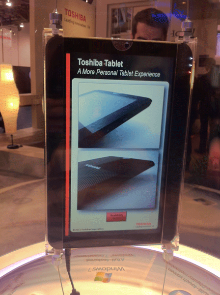 Windows 7 Tablet from Toshiba