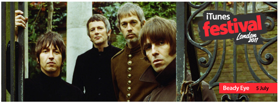 Beady Eye at iTunes Festival