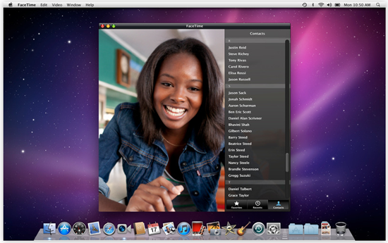 FaceTime Screen