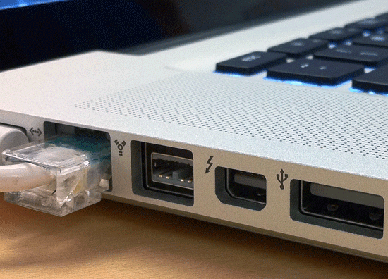 Apple's Thunderbolt port