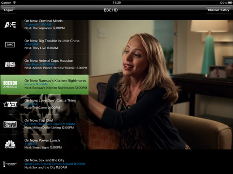 Time Warner Cable App