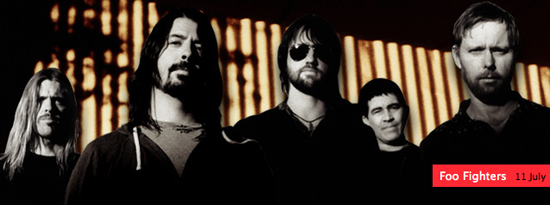 Foo Fighters at iTunes Festival
