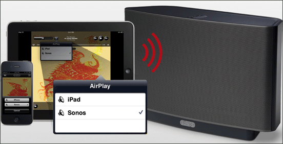 Sonos AirPlay Support