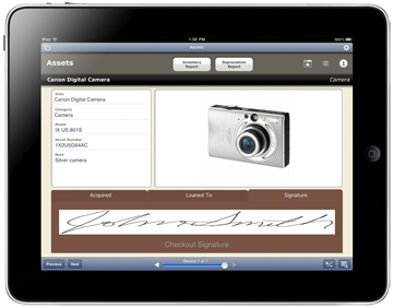 FileMaker Go Signatures