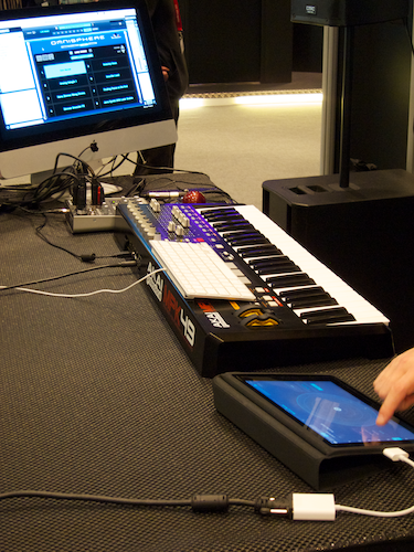 Spectrasonics demo booth at Musikmesse 2011