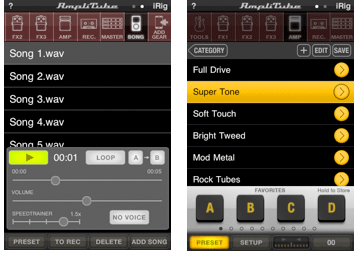 Vocal Effects in AmpliTube