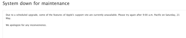Apple Support?