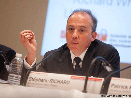 France Telecom CEO Stephane Richard
