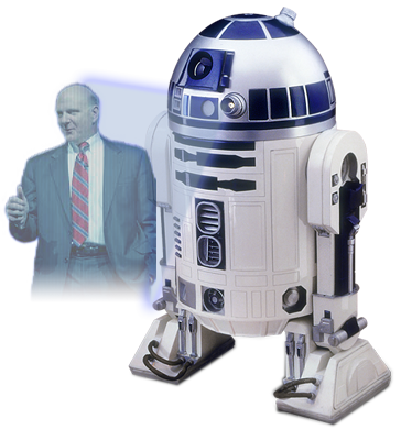 Help me, Steve Ballmer. You're my only hope.