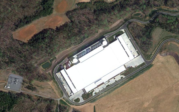 Apple's Original Data Center in Maiden, North Carolina