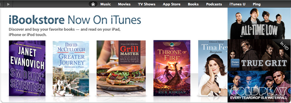 iBooks Advertised on iTunes