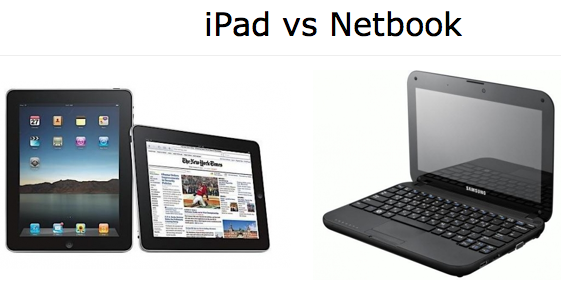 iPad vs. Netbook