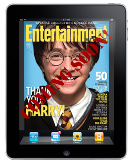 EntertainmentWeekly coming soon to the iPad