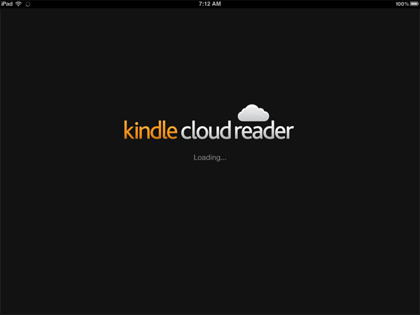 Kindle Cloud Reader as an App