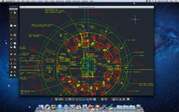 AutoCAD LT 2012 for Mac Screenshot