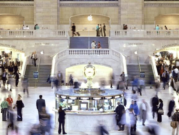 Grand Central Terminal Apple Store, from the Lobby