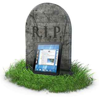 R.I.P. TouchPad