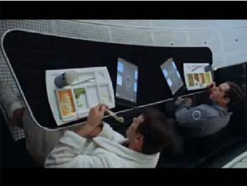 """Frame from """"2001: A Space Odyssey"""""""