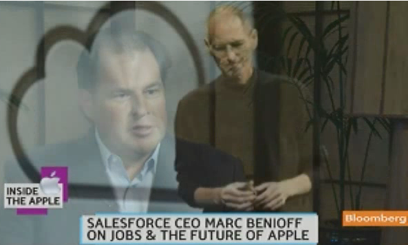 Marc Benioff, CEO of Salesforce.com