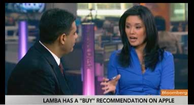 Abhey Lamba Interviewed on Bloomberg