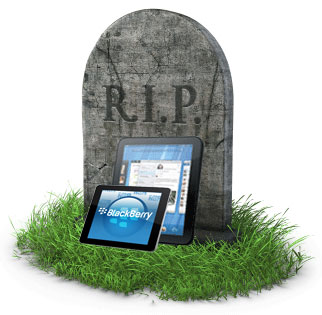 RIP TOuchPad and Playbook