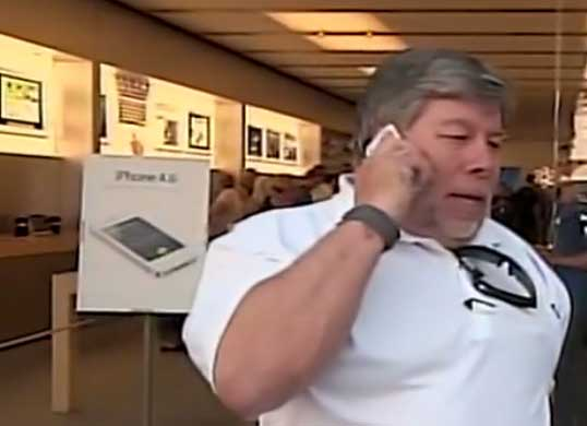 The Woz in Line
