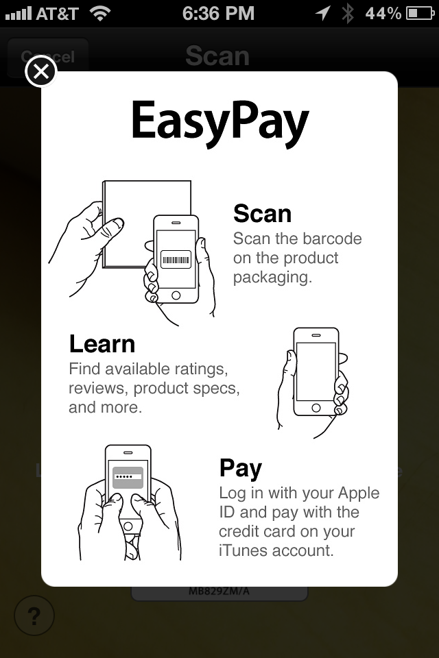 EasyPay Instructions