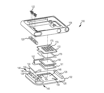 Apple patent application with iPod nano speaker