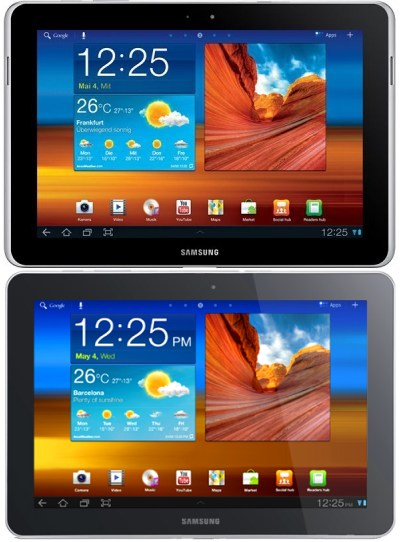 Galaxy Tab 10.1N vs. Galaxy Tab 10.1
