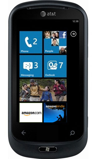 Amazon Windows Phone Mockup