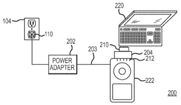 Apple multi-device power adapter patent