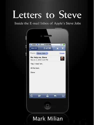 Letters to Steve Book Cover