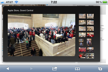 Apple Grand Central Store panorama
